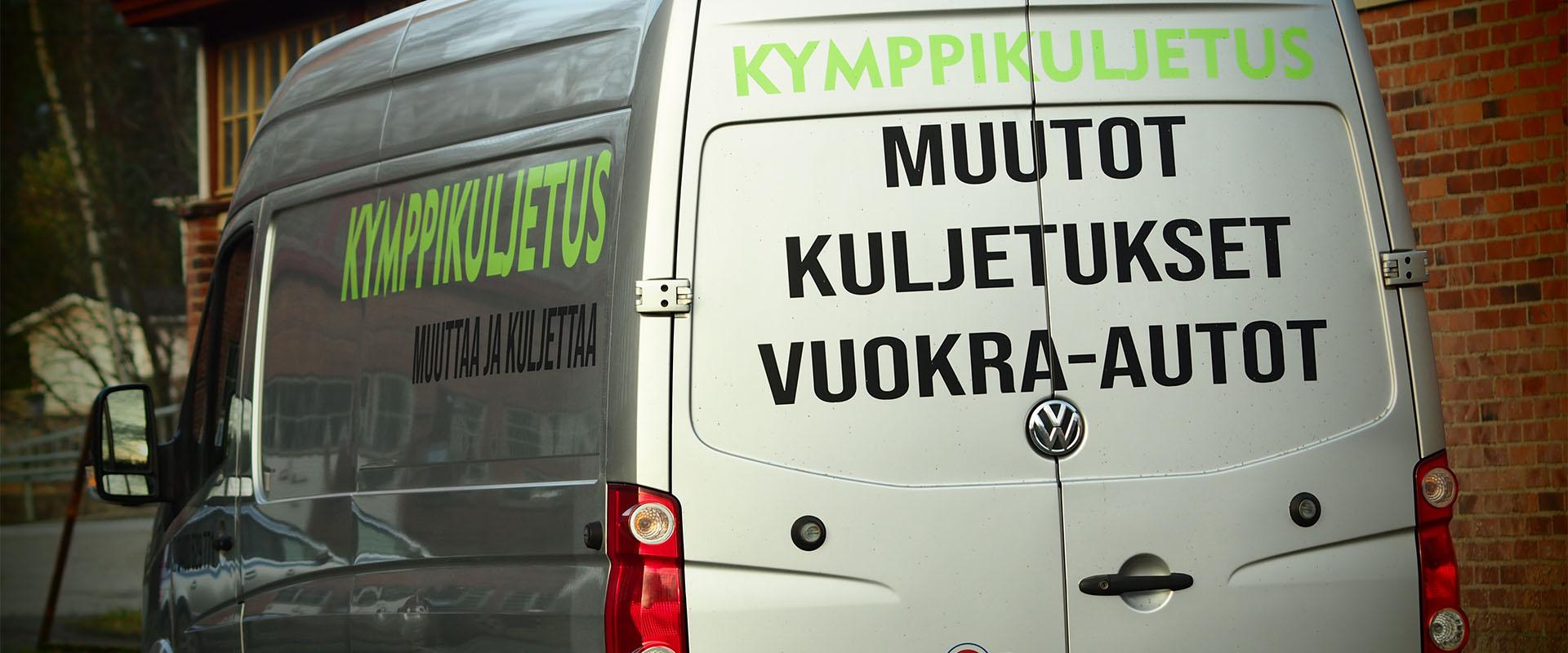 Muutto- ja kuljetuspalvelu Suomessa ja Pohjoismaissa